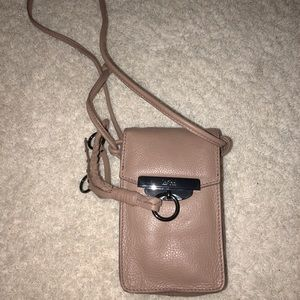 Light Brown Crossbody Leather Bag